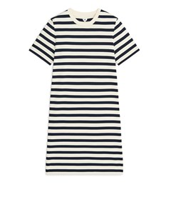 T-shirt Dress Dark Blue