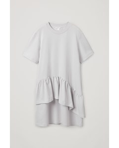 Frilled Dress Grey