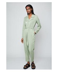 The Serena Jumpsuit Sage