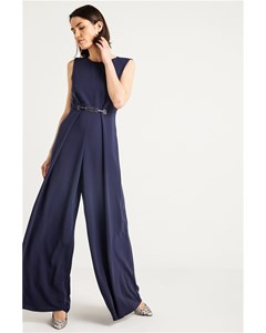Overall With Leather Clasped Waist