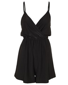 Strappy Playsuit Svart