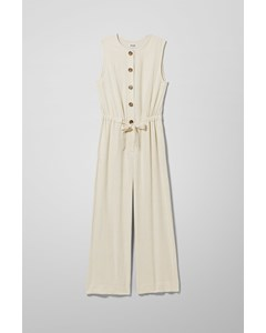 Thelma Jumpsuit White