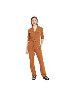 3/4 Sleeved Belted Jumpsuit Ordalie Ordalie - Overall