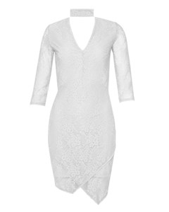 July Dress White