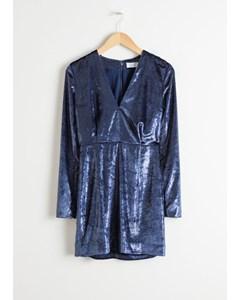 Luna kleid blau