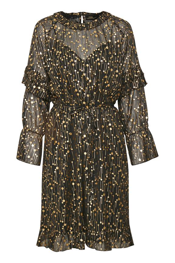 Hanami Dress Meteorite Black