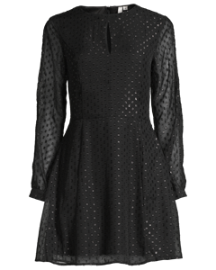 Stay All Night Dress, Svart