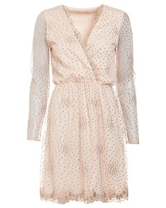 Exclusive Sprinkle Glitter Dress Champagne