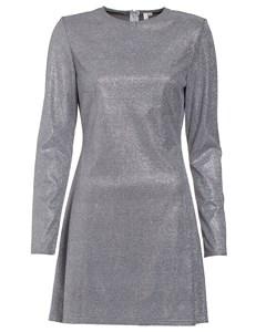 Sparkle Shimmer Dress Silver