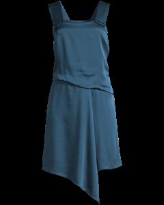 Sbc Mix Pleat Dress Marine
