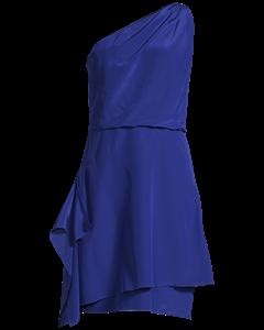 One Shoulder Silk Satin Dress Pansy