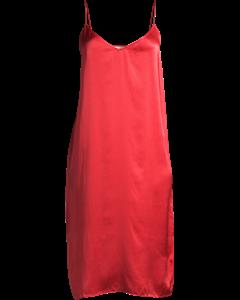 Slip Dress Red
