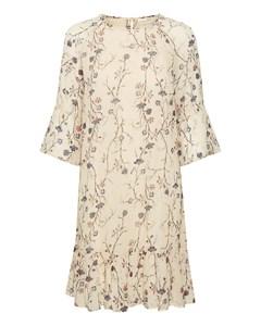 Trilbyiw Short Dress French Nougat Asian Floral