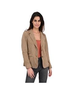 Leather Blazer Jacket Sandy Sandy