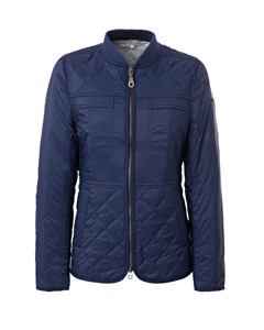 Ivy Quilted Jacket Deepest Blue
