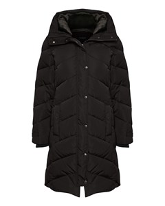 Denzil Wool Coat Black