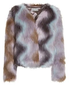 Multi Fur Jacket Multi