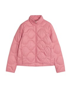 Quilted Down Liner Jacket Pink