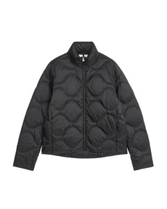 Quilted Down Liner Jacket Black