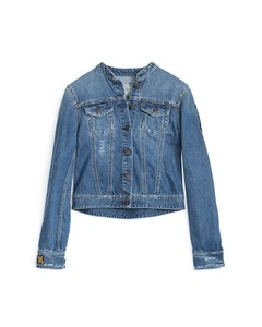 Rudy Studded Jacket Mid Indigo Wash