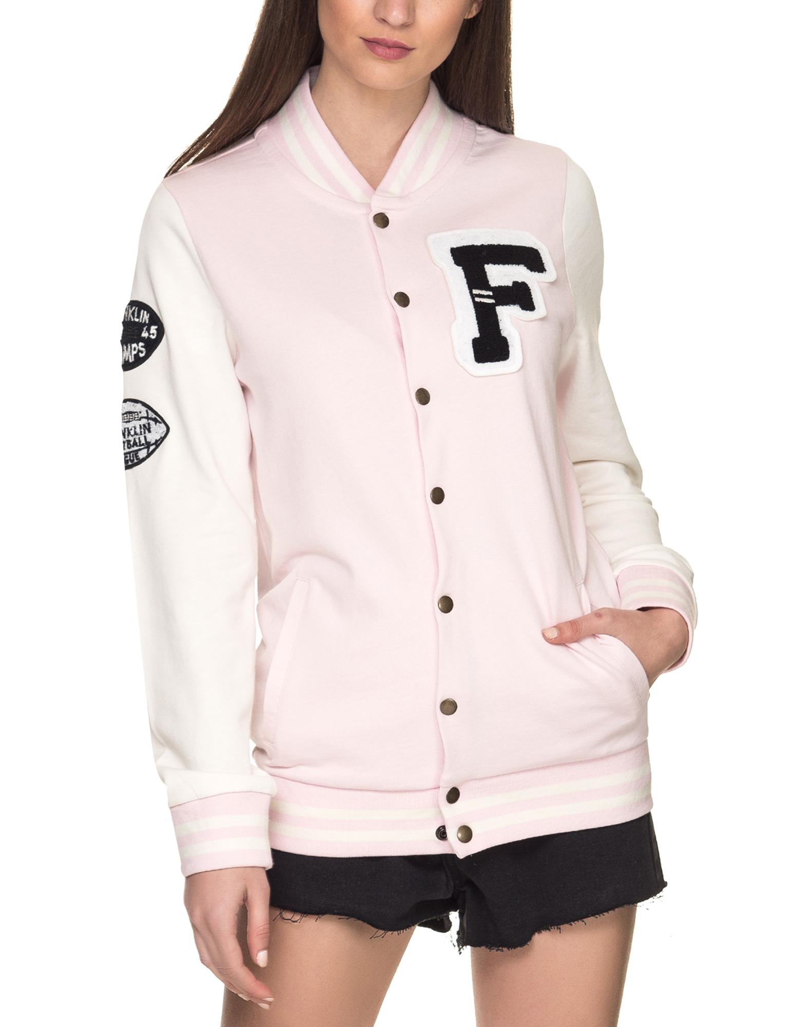 Franklin & Marshall Women's College Jacket Pink bis zu 70