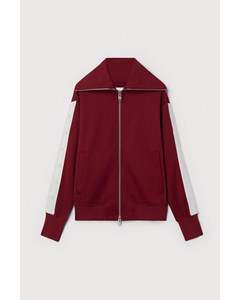 Snap Track Jacket Red