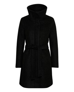 Seola Zip Coat Black