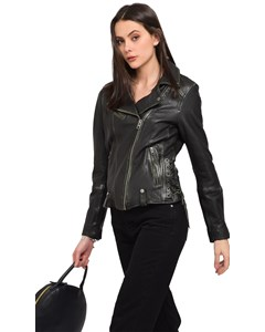 Oakwood - Perfecto In Sheep Leather - Woman