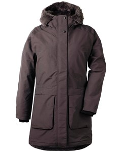 Dagny Wns Parka Chocolate Brown