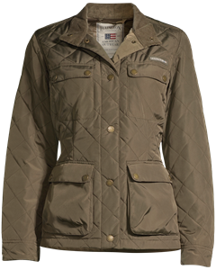 Hedda Quilted Jacket Hunter Green