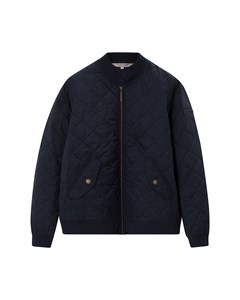 Greta Quilted Jacket Navy Blue