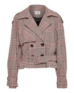 Sari Jacket So19 Tan Check
