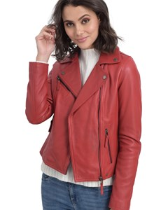 Clips Leather Jacket