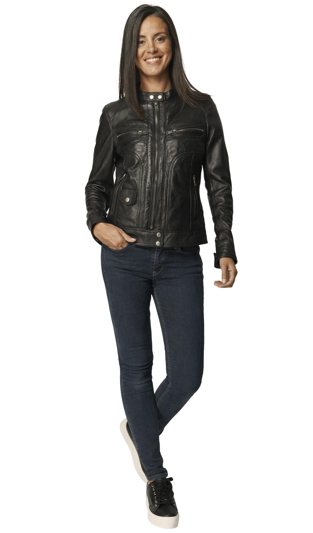 Bethanie Leather Jacket | Upp till 70% |