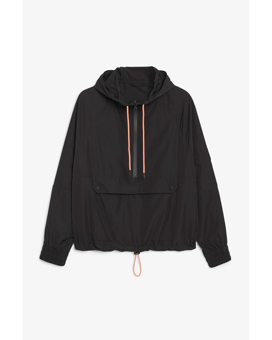 Monki Ashley Anorak Black