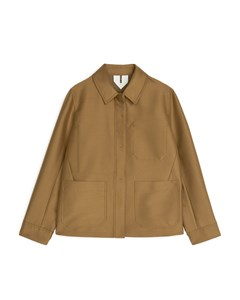 Workwear Suit Jacket Light Brown