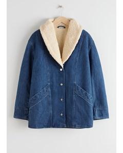 Coat Denim Blue