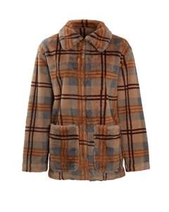 The Madison Coat Grey Check