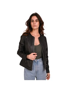 Michelle Short Leather Jacket Michelle