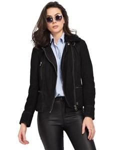 Nubuck Leather Jacket Projection