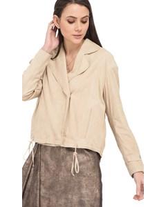 Soft Leather Jacket Streep 62722