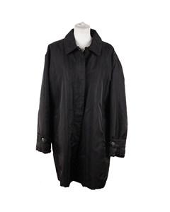 Marella Black Nylon Padded Winter Mid Lenght Jacket Size 46