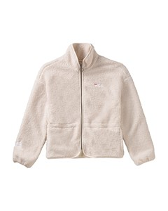 Women Hajar Sherpa Fleece Jacket Whitecap Gray