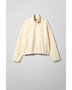 Maja Fleece Sweatshirt Beige