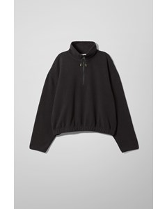 Maja Fleece Sweatshirt Black