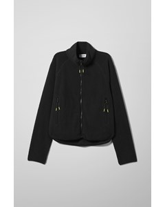 Katy Fleece Jacket Black