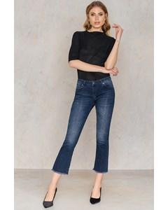 Kick Flare Jeans Blue