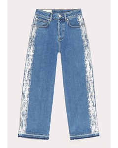 Mom Flare Jeans Blue