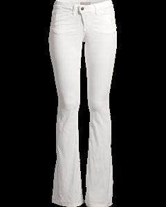 H.d. Flare Denims-vintage White