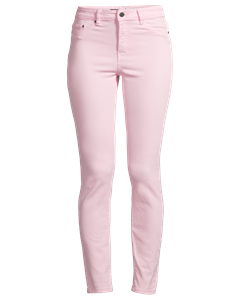 Superstretch High W Denim, Rosa